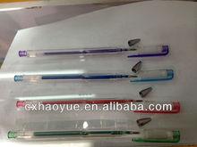 Zhejiang 100 style click plastic glitter pen