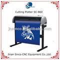 Sc-860 plotter de corte con escáner de led de visualización