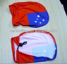 custom decorative National car mirror cover socks, car mirror cover flag