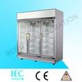 1500l 3 türen gefrierschrank/Gewerbe Kühlschrank/anzeige kühlschrank für saft