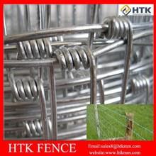 Galvanized iron grassland fence