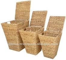 2012 Laundry Baskets/ water hyacinth baskets