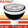 la production et la fourniture de haute powerpar30 lampe led par lampe led lampe 12w magasin de vêtements