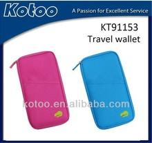 Nylon travel organizer,passport organizer