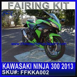 Motorcycle Fairings for KAWASAKI NINJA 300 2013 custom bodywork