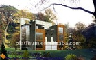 Steel Material and Hotel,House,Office,Villa Use modern prefab villas