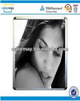 wall mounted aluminum snap photo frame, premium magic photo frame, poster frame