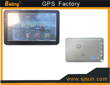 Factory sell,HD touch screen 800*480 7 inch GPS navigation 128M 4GB ,WIin CE 6.0 with CE Certificate