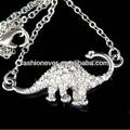 di cristallo Brachiosaurus dinosauro ragazze pendente collana nuovo regalo di natale
