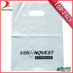 Cheap die cut plastic shopping bags for sale