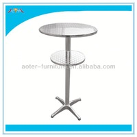Classic commercial high top bar tables