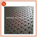 decorativa de acero inoxidable hojas de metal perforado