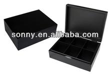Elegant Black Matte Finish Oolong tea Box, Premium gift and Souvenir