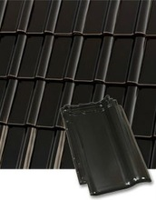 Roben Piemont black-brown ceramic roof tiles