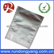 custom high quality aluminum foil bags with zipper for packaging