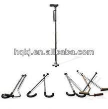 haoqiang brand ODM Hiking Aluminum Adjustable Folding Canes,Walking Stick cane spirit