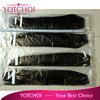 "22"" silky straight full cuticle brazilian remy virgin human hair weft/weave 100% human hair"