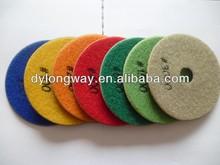 "125mm flexible wet diamond polishing pads,5"" stone polishing pads,diamond floor polishing pads."