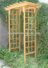The Curve Top Garden Arch / Wooden Arbor / Garden Pergola