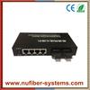100M fiber switch multimode dual fiber 6 ports