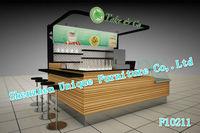 2013 New Feel ! Bubble Tea Kiosk With Ice Cream, Yogurt, Juice, Cake For Selling