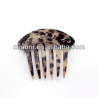 Best selling cellulose acetate vintage hair accessory hair comb side comb