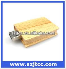 Innovative Wooden Book Shape USB Flash Stick,Memory Disk,Pendrive