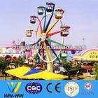 Outdoor carnival games amusement park mini ferris wheel for sale