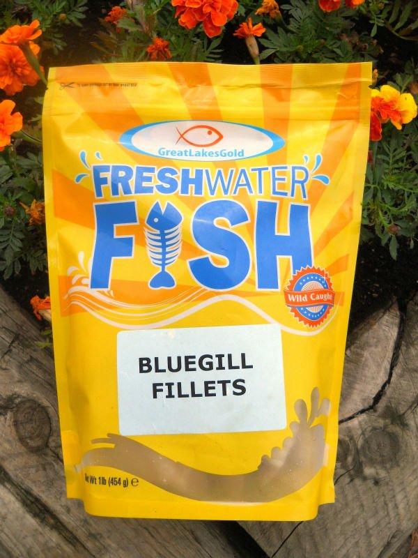 Frozen Bluegill Fillets For Retail