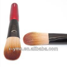 wooden handle make up foundation brush