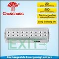 sinal de saída de iluminação de emergência