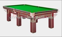 2014 The newest factory made high quality billiard pool snooker games table with best selling
