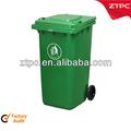 Ao ar livre de resíduos de plástico bin, recipiente 240l