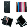 For Galaxy s4 mini i9190 Litchi Pattern pu Leather Wallet Case
