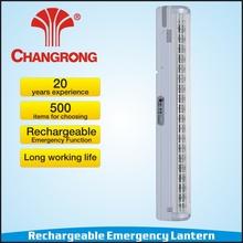 CR-1087B Wall mounted led emergency light battery 6V 4.5Ah rechargeable solar light