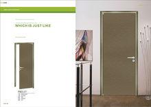 Latest Design Wooden Doors Interior Aluminum Office Door manufacturers