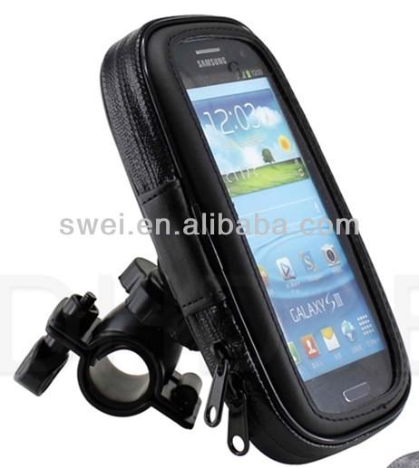 Bicycle Waterproof Phone Zipper Case Bag for S3