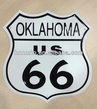 unregelmäßige form uns 66 geprägte metalldose zeichen