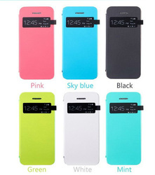 View Case for iphone 5c.Screen Window Auto Sleep Wake up , Flip Leather Case for iphone 5c