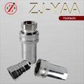 Zj-yaa iso7241 bsp 1/2 açoinoxidável hidráulico engate rápido