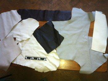 Leather scrap