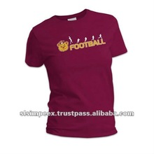 Round Neck Design Ladies T shirts
