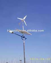 Bluesun top quality mono 310w panels wind turbine and solar panel hybrid system 1000w