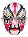 La ópera de pekín maquillajes& máscara china