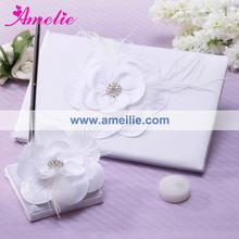 AGB03 Elegant white diamond wedding decor