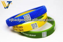 Cheap digital silicone rubber bracelet watch