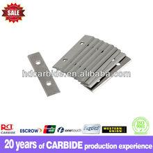 tungsten carbide cutting blades