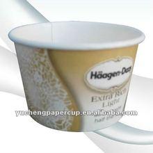 20oz disposable printed magic cup ice cream