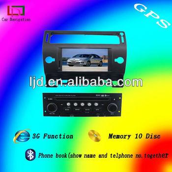 citroen c4 dvd car gps with can bus bluetooth