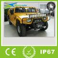 Barra de luz LED marca CREE, de doble hilera y a prueba de agua, 10-30V 14400lm y 5 pulgadas, para Jeep, camión, coche, furgoneta, 4x4…
